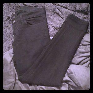 J. Brand black skinny jeans